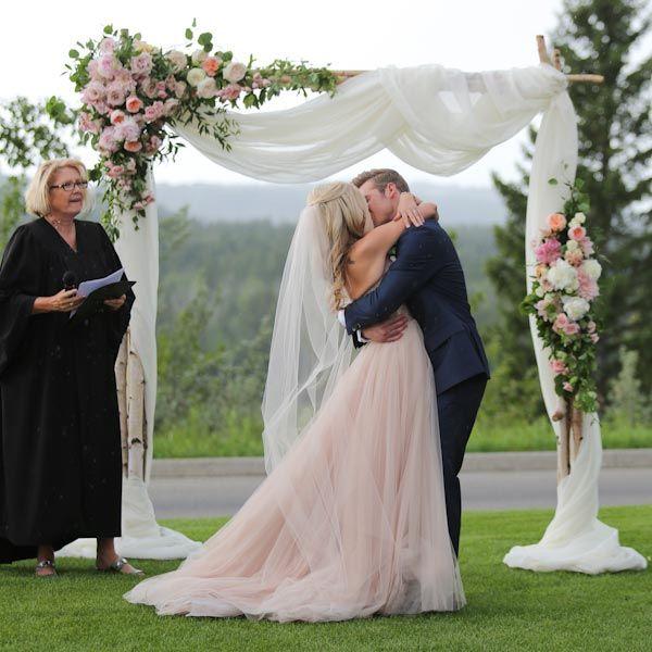 Civil Wedding Ideas: 50 Gorgeous Wedding Ceremony Structures