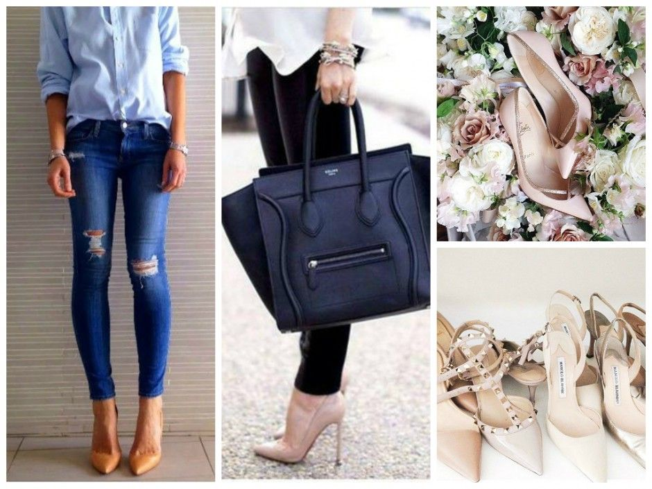 nude heels inspiration pointed toe pumps