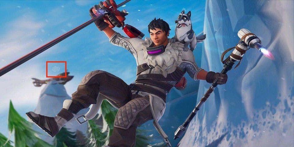 Fortnite Season 7 Week 1 Secret Battle Star Snowfall Location Map Battle Star Fortnite Screen Wallpaper Hd