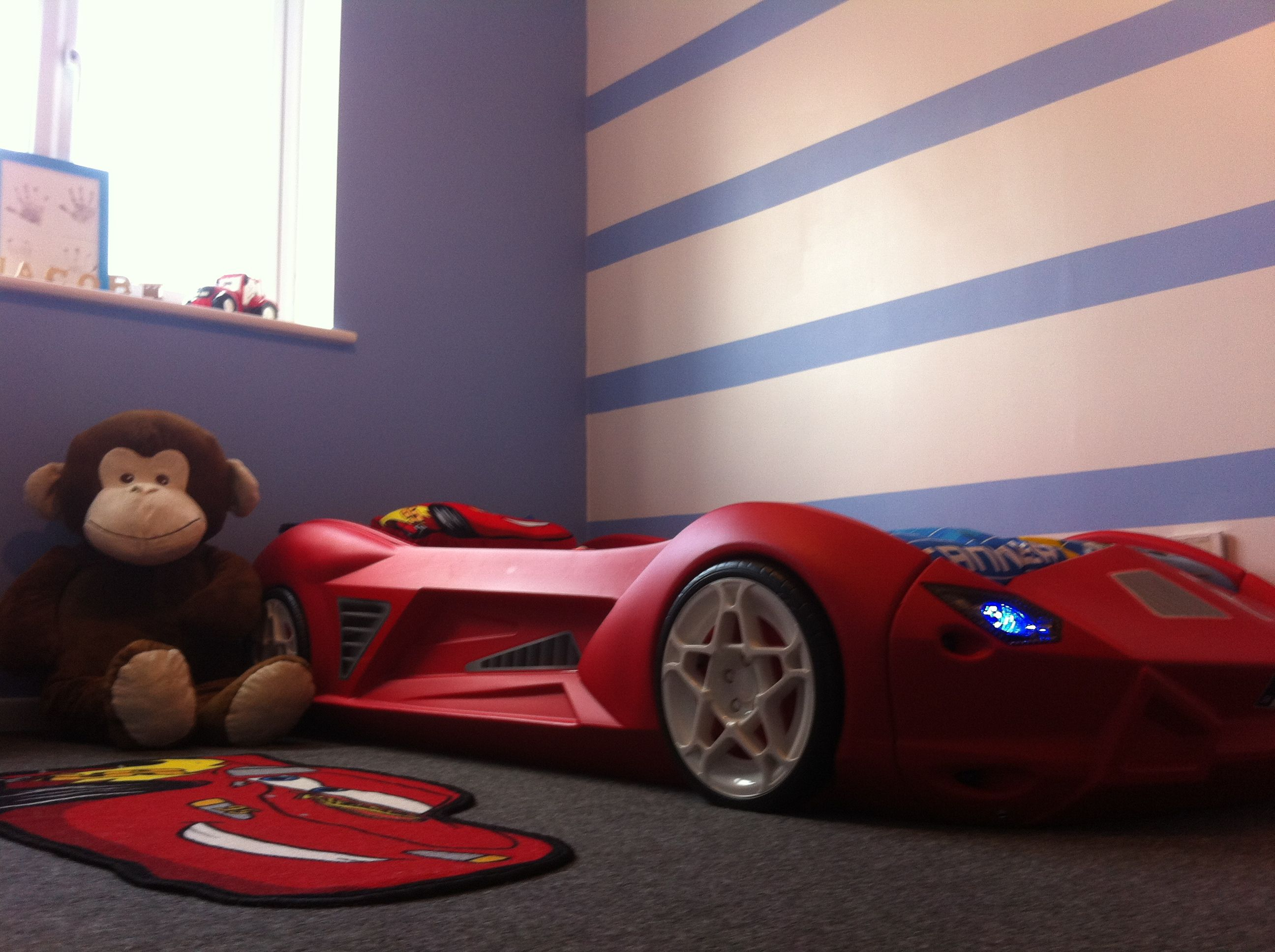 boys car bed | brothers' bedroom | pinterest | car bed