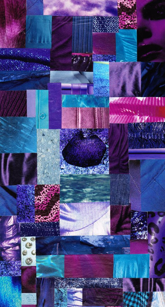 Analogous Colour Collage By Kristen Hutchison Color Collage