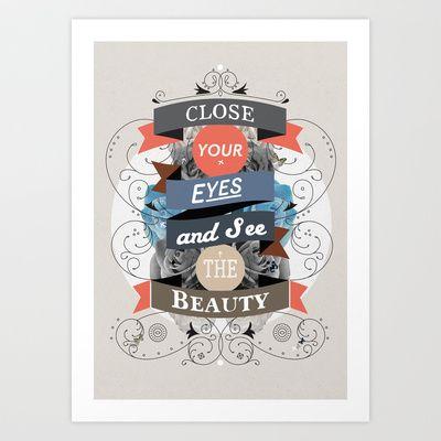 The+Beauty+Art+Print+by+Kavan+&+Co+-+$17.99