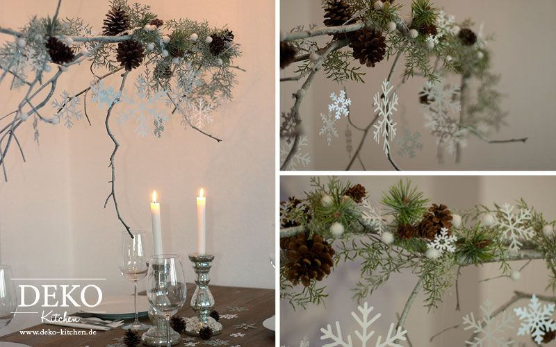 diy weihnachtlicher deko zweig deko kitchen blumendeko. Black Bedroom Furniture Sets. Home Design Ideas