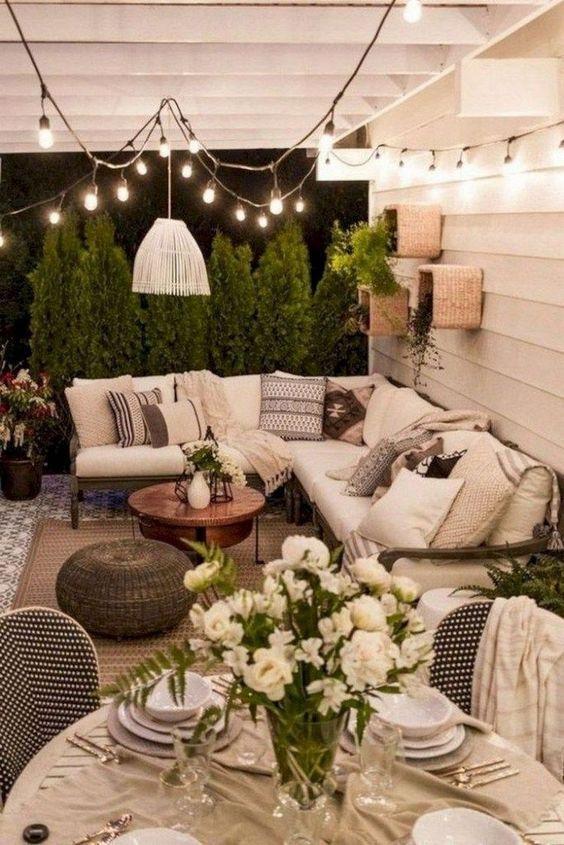 Farmhouse Patio Ideas 13 Outdoor