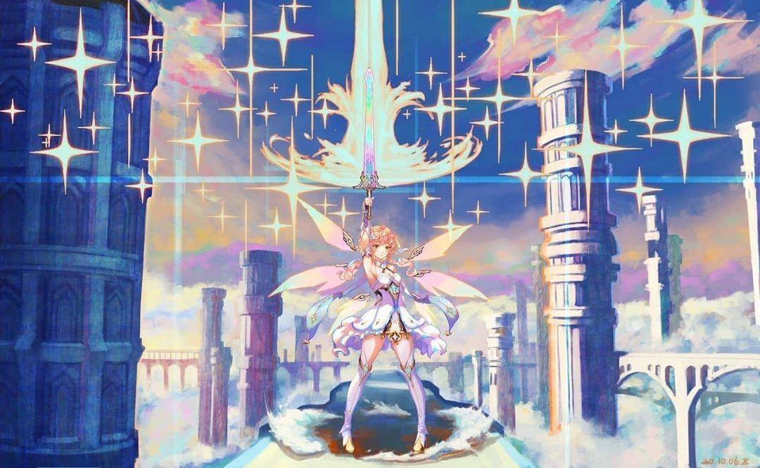 Lumine Anime Art Anime Wallpaper Impact