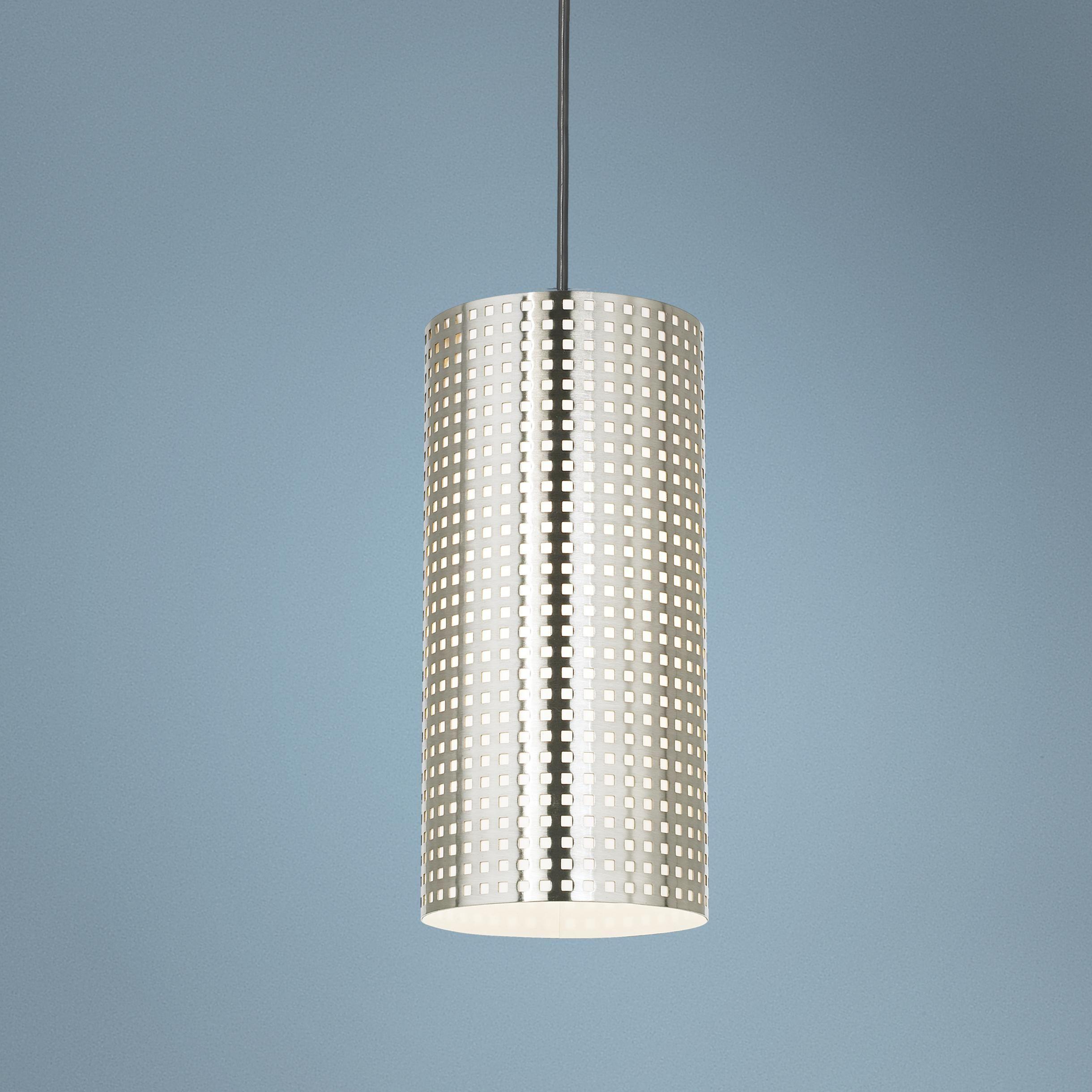George Kovacs Grid Collection 6 W Perforated Mini Pendant 08843 Lamps Plus Pendant Chandelier Chandelier Design Chandelier Pendant Lights
