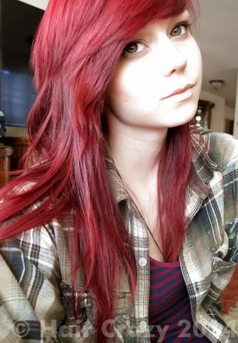 L Oreal Hicolor Red Hot With 30 Developer Used Hilights
