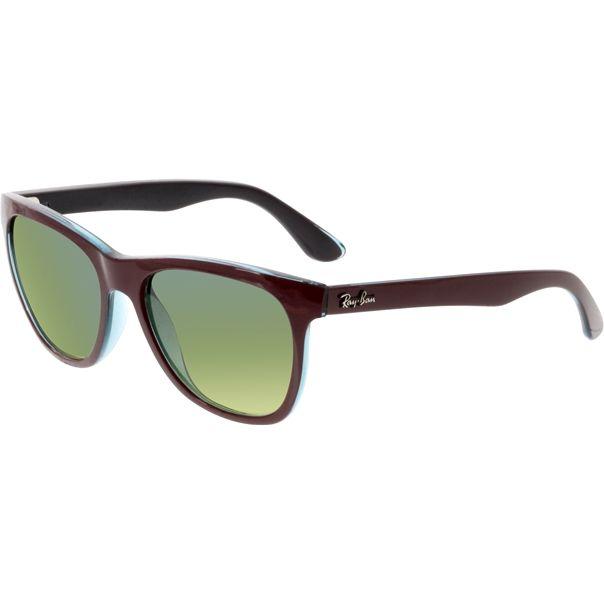 Ray-Ban Women's Highstreet RB4184-61143M-54 Purple Square Sunglasses