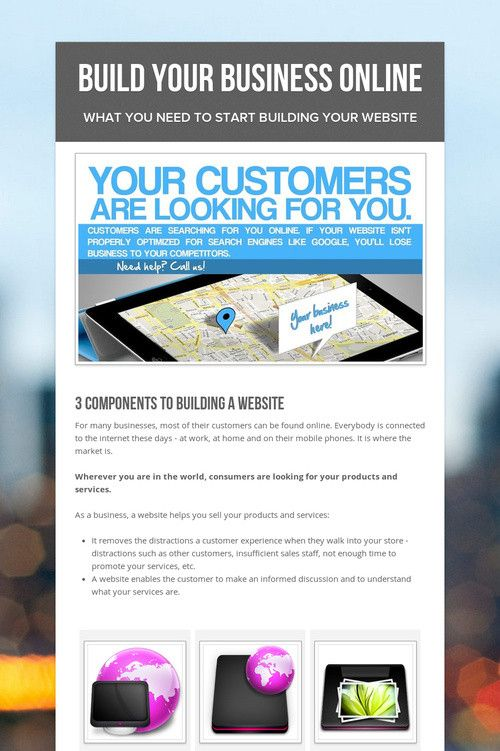 Build Your Business Online with this online flyer service - free to - how to make online flyers