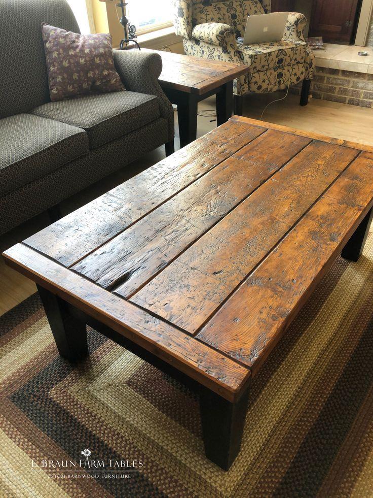 Rustic Coffee Table Art Wooden Wood Pinterest Com En 2020 Tables Basses Rustiques Table De Salon Table Basse