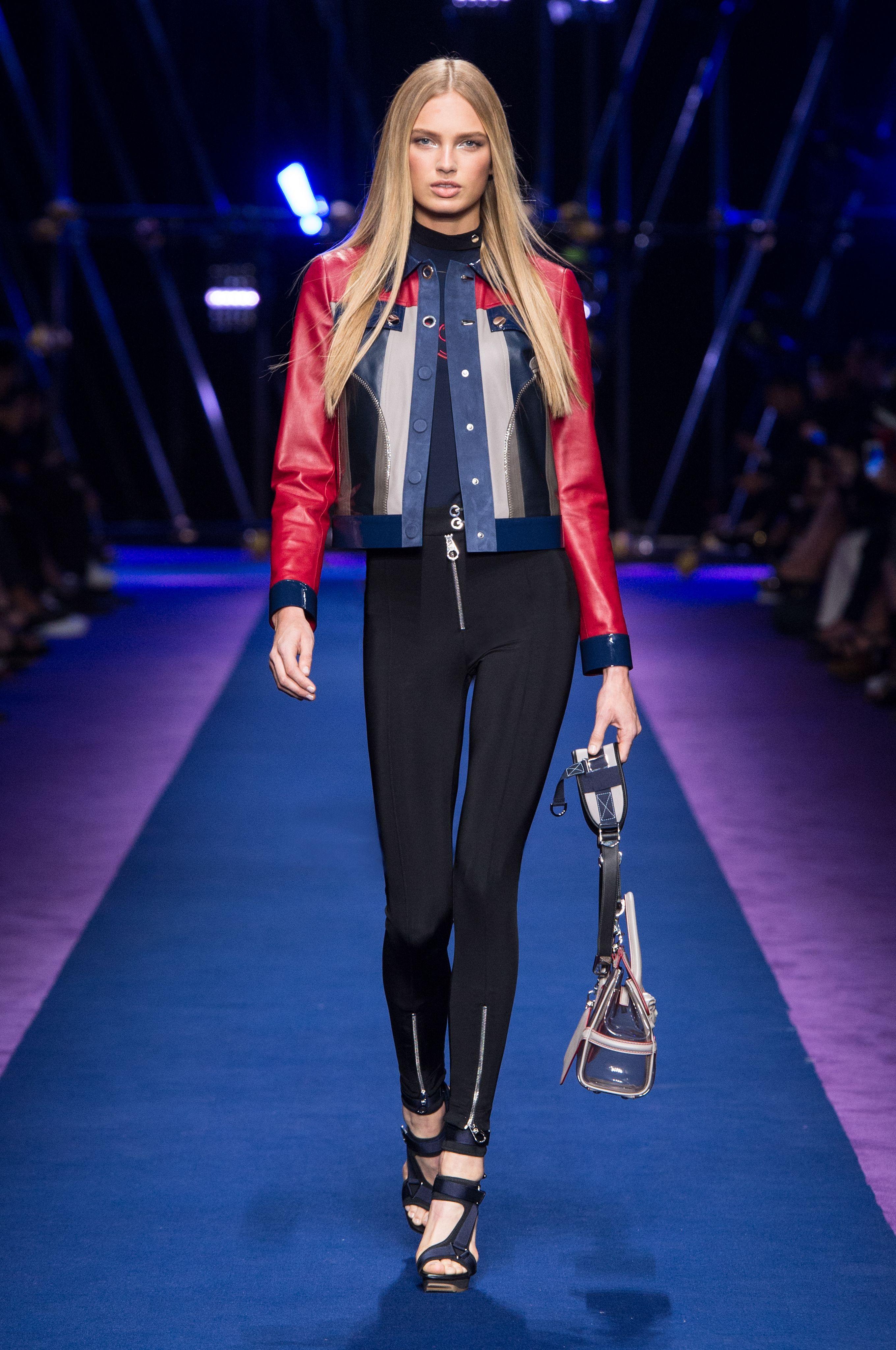 – Look Summer Women's 30Italian Fashion Show Versace 2017 Spring 35RSAjqc4L