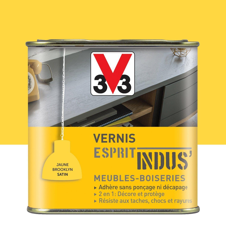 Vernis Meuble Et Objets Indus V33 075 L Jaune Brooklyn