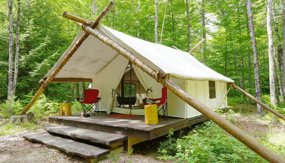 Book This Trip For Chic Tents Farm To Table Meals And Just Rough Enough Tent Glamping Tent Tent Camping