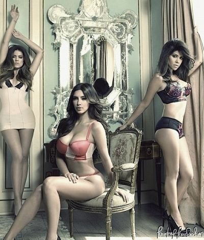 kourtney kardashian lingerie kardashian kollection kim