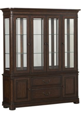 Dining Rooms Bayhall China Cabinet Havertys Furniture Options