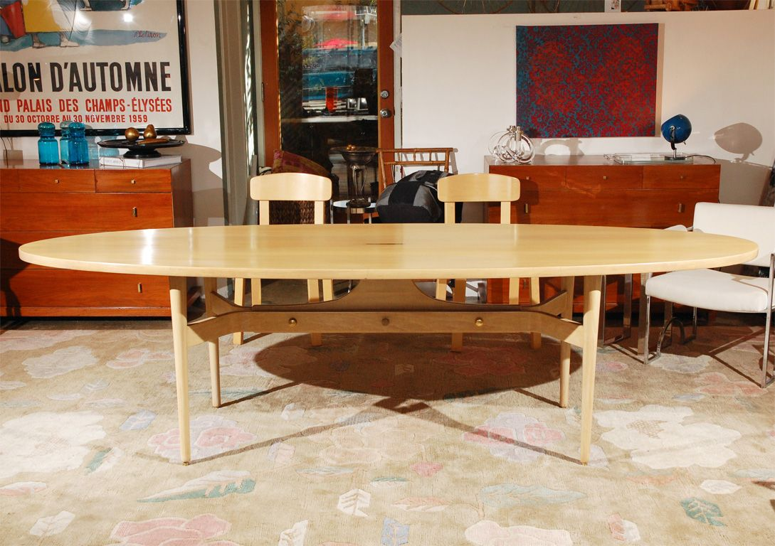 Surfboard Table Dining Set