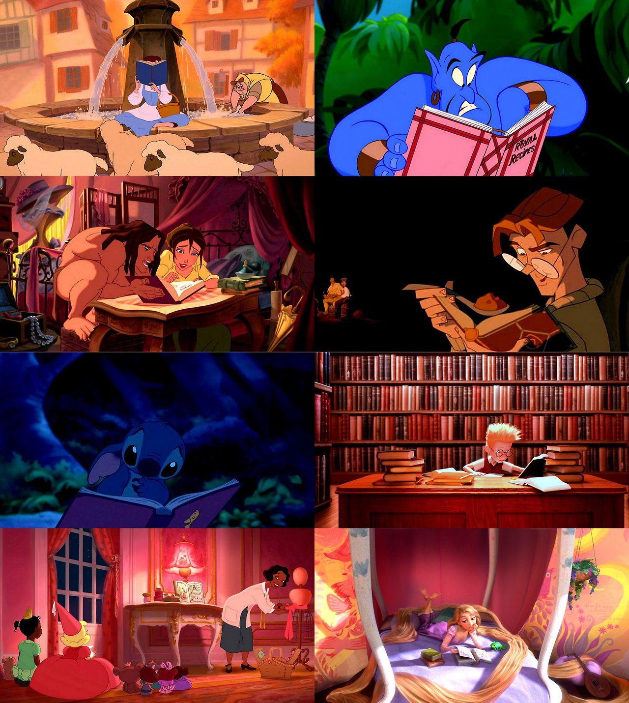 Contemporary Disney Reads