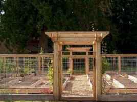75 Stunning Backyard Vegetable Garden Design Ideas #erhöhtegartenbeete