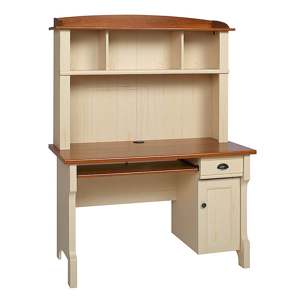 Realspace 174 Shore Mini Solutions Computer Desk With Hutch