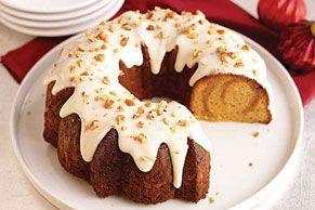 French Vanilla-Caramel Cake