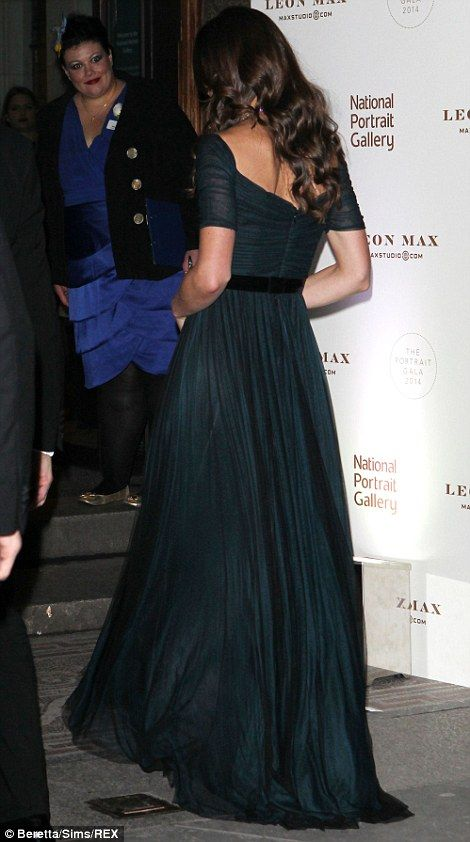 The Duchess told guests that she was delighted to be at the event and praised the gallery's 'exceptional' achievements