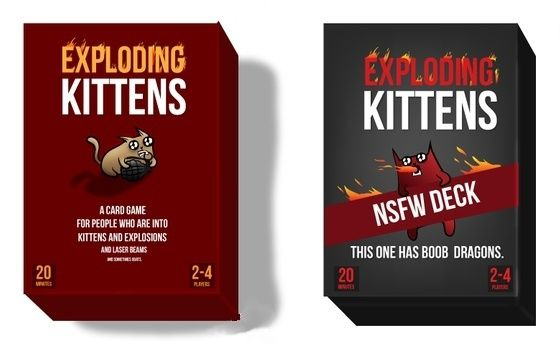 Trash Monkey Exploding Kittens Card Game With Images Exploding Kittens Card Game Exploding Kittens Card Games
