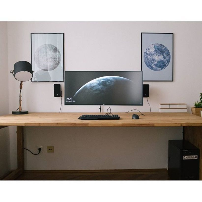 Awesome 54 Diy Computer Desk Ideas Space Saving For Small Space Https Homefulies Com Index Php 20 Home Office Design Office Desk Designs Computer Desk Design