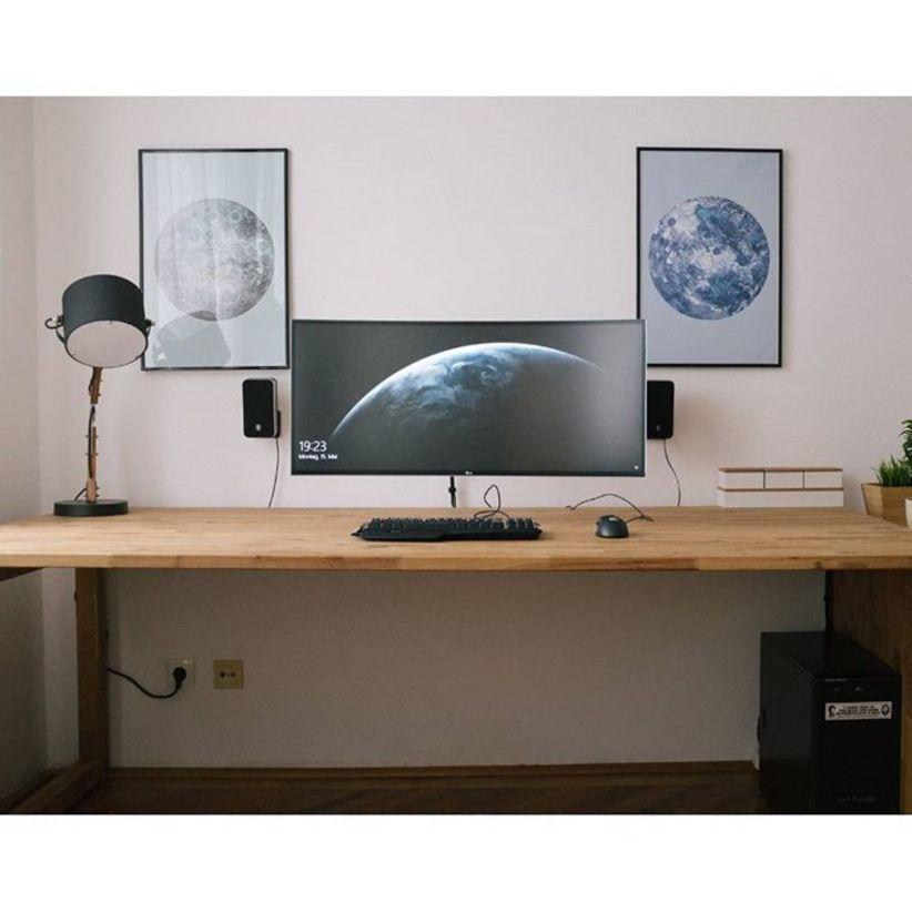 Moderncomputerdeskawesome Home Office Design Office Desk Designs Computer Desk Design