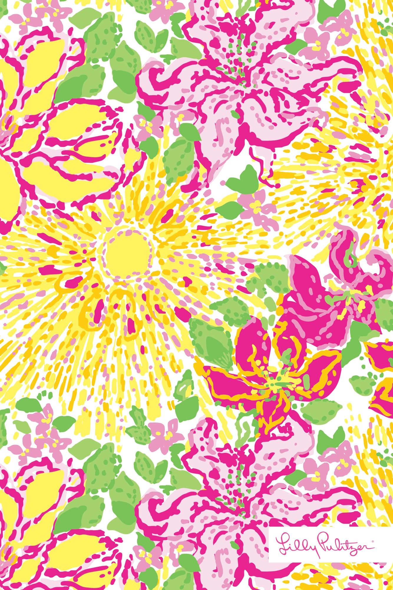 Lilly Pulitzer A Story Written in the Sun wallpaper   Patterns We ...