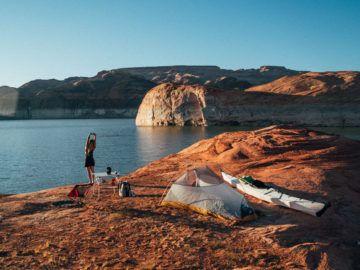 Photo of Kayak camping Kalen Thorien