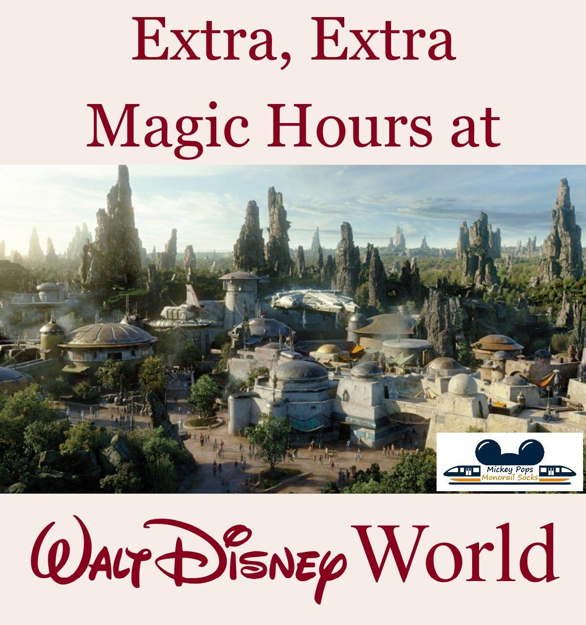 Extra Extra Magic Hours At Walt Disney World Disney World Trip