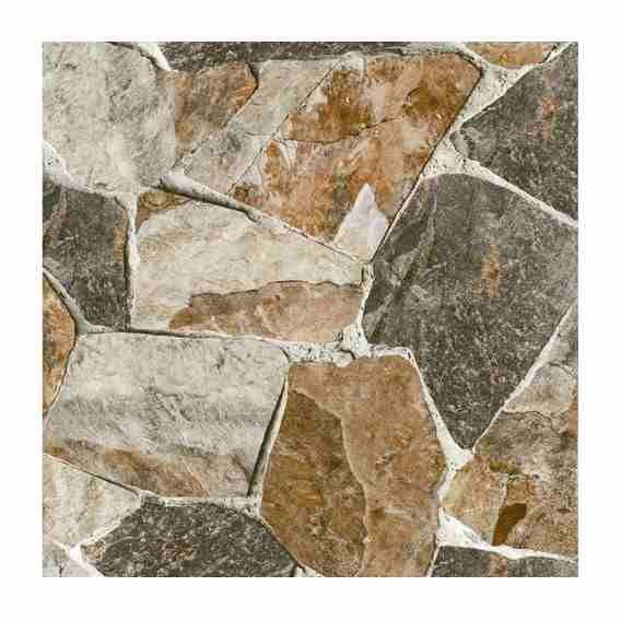 Ceramica Piso Pared Exterior Piedra 45x45 Patio Rustica 1era Pisos Pisos Para Garage Muro De Ladrillo