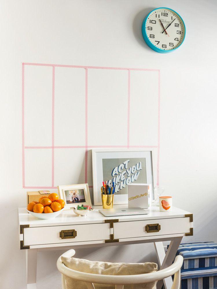 West Village Apartment Decorated With Craigslist Items Home Office Design Desk Inspiration Decor