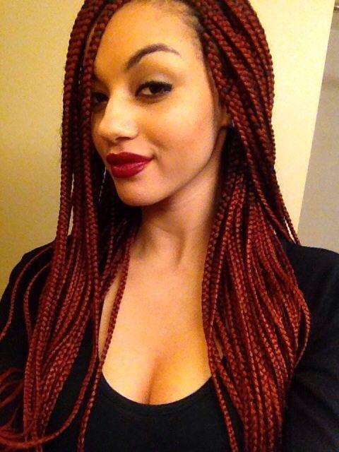 65 Box Braids Hairstyles For Black Women Braided