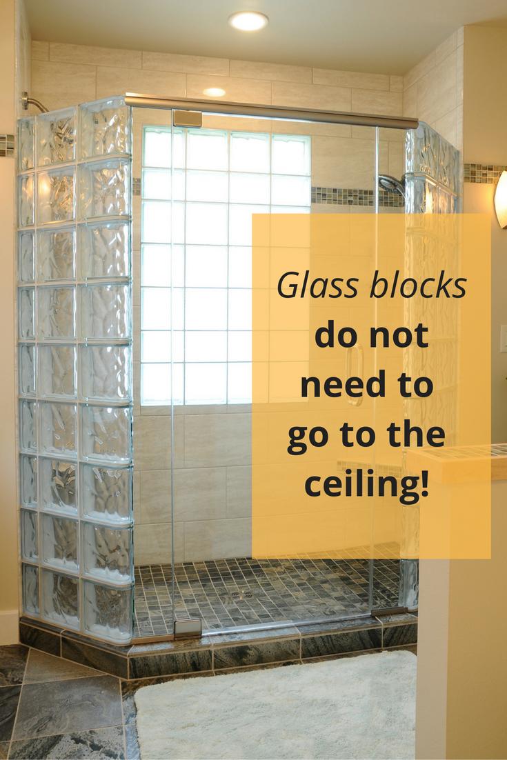 5 Myths About Anchoring A Glass Block Shower Wall Glass Block