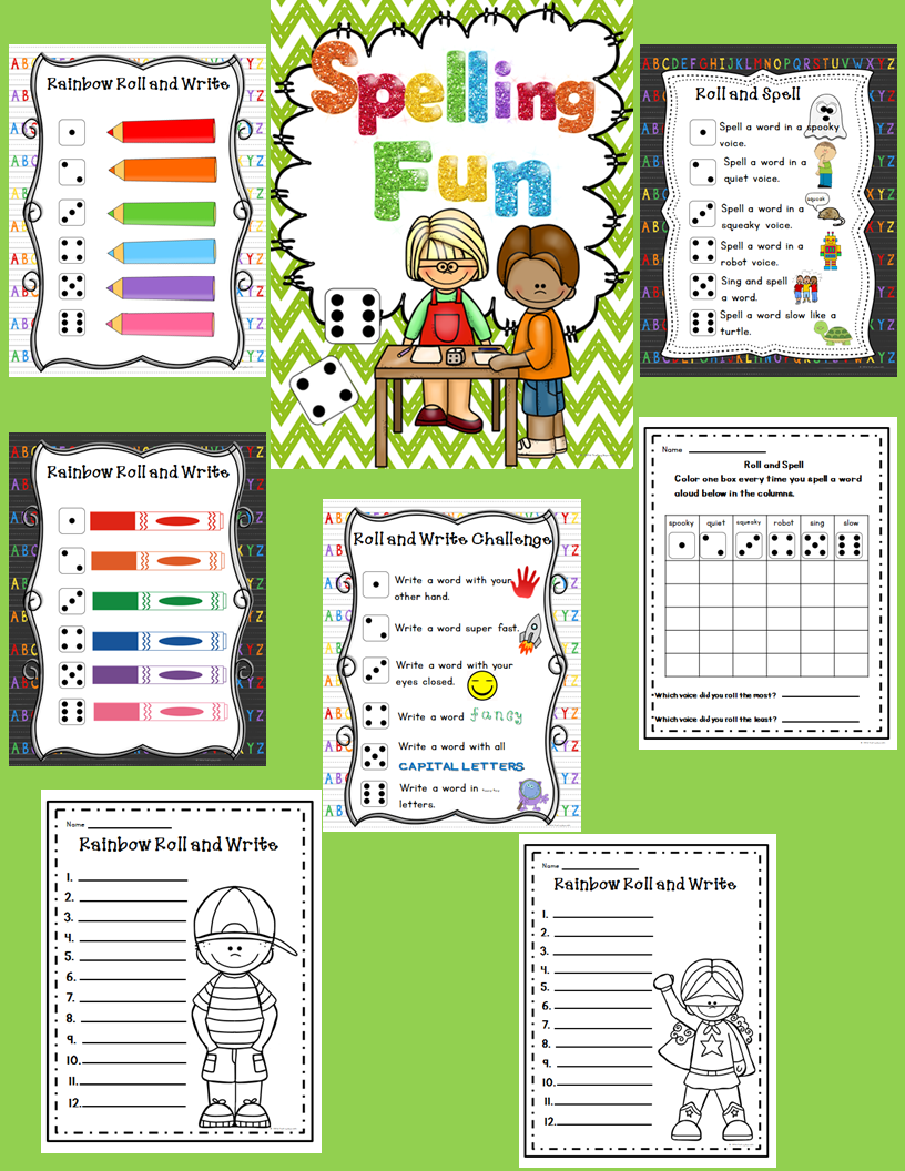 This packet was created to provide some fun ways to practice spelling! They would work great in a center or as homework practice. Black and white copies of main pages are included if you choose to use for homework.