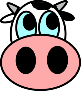 Cow Face Easy To Draw Lerisha Party Pinterest Cartoon Cow Face