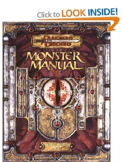 Monster Manual: Core Rulebook III  v. 3.5 (Dungeons & Dragons d20 System) by Skip Williams. $14.49. 320 pages. Publisher: Wizards of the Coast; 1St Edition edition (July 1, 2003)