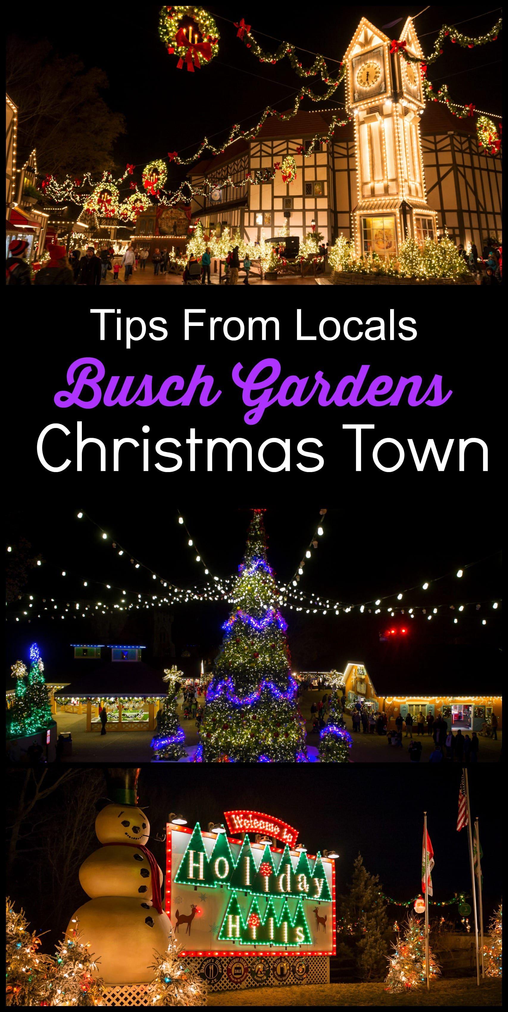 Busch Gardens Tampa Christmas Town 2020