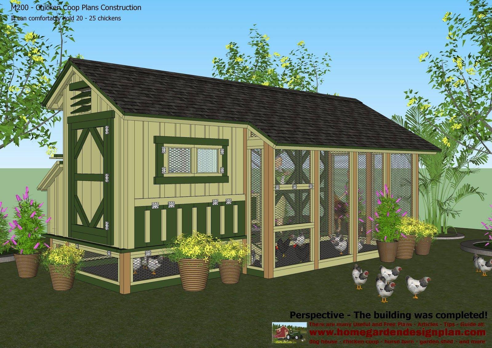 Home garden plans  chicken coop construction design how also rh pinterest