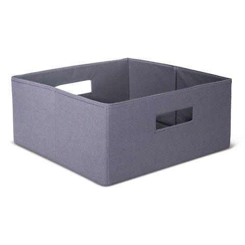 Half Size Fabric Cube Storage Bin 13 Quot Threshold 1 78