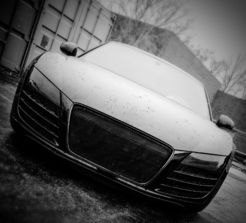Audi R8 in our Audi Repair Shop for a new clutch! Call us when your