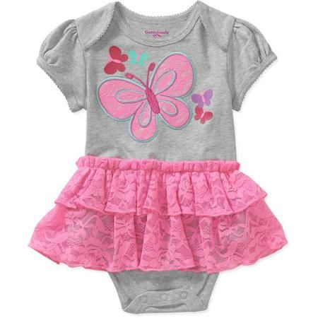 Walmart Baby Girl Clothes Interesting Garanimals Newborn Girl Lace Tutu Creeper  Walmart  A Princess Decorating Inspiration