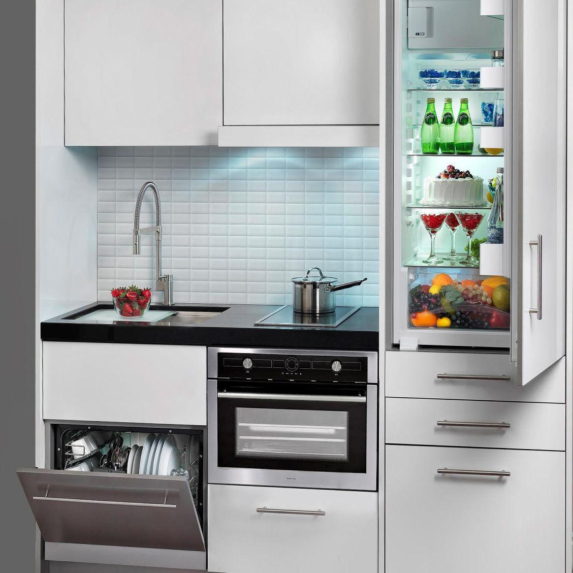 Pin Oleh Studio Design Llc Di Small Kitchens Renovasi Dapur Kecil Interior Dapur Dapur Ringkas