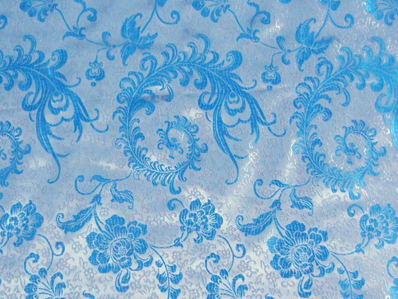 heavenly blue chinese fabric