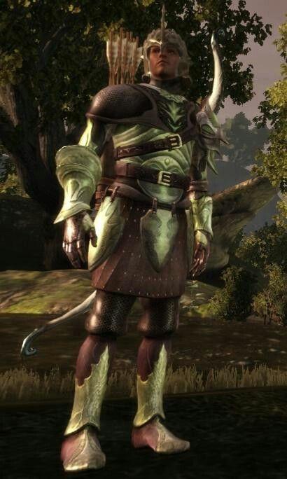 ancient elven armor dragon age origins
