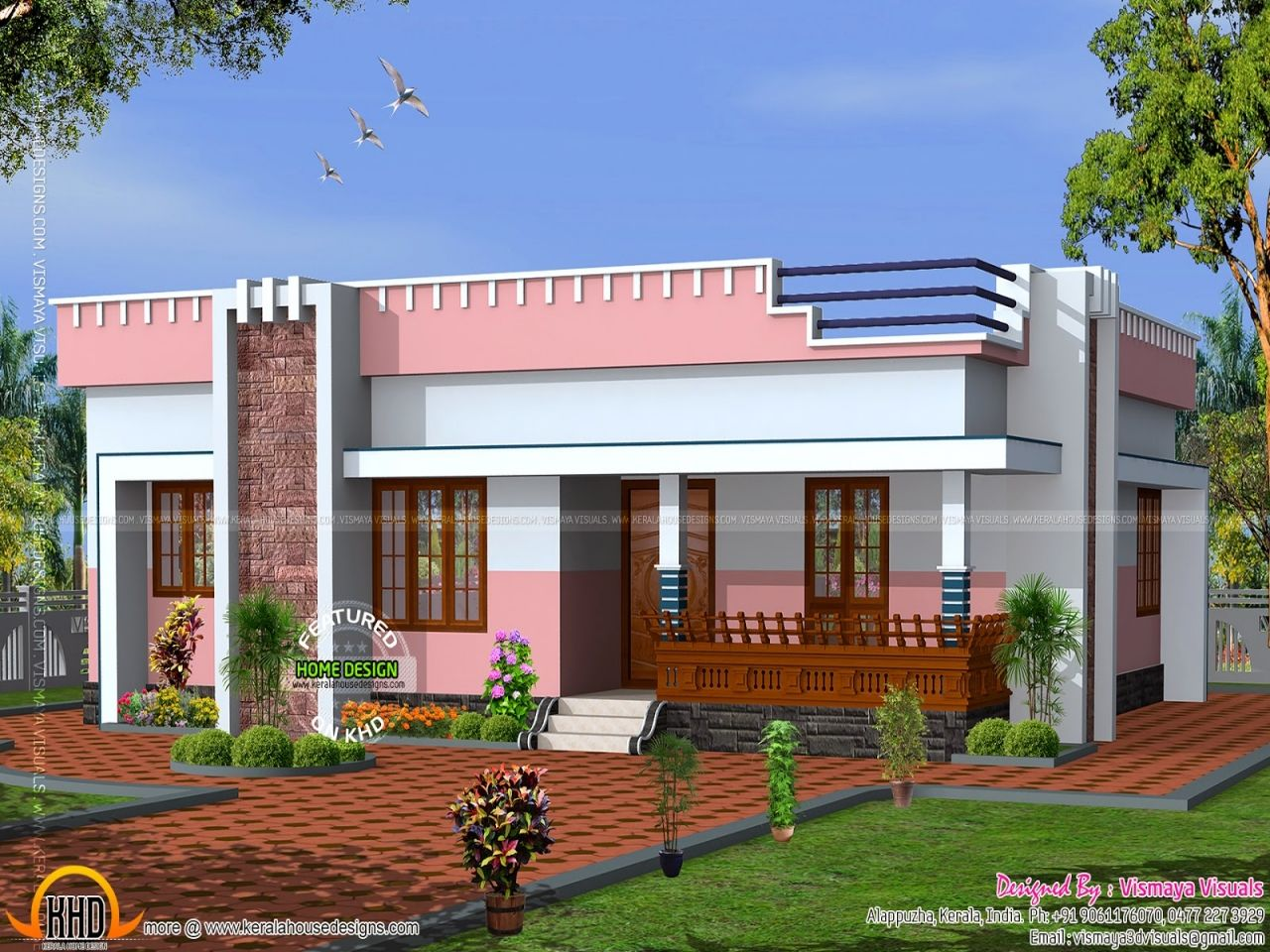 Home Parapet Design Photos Flat Roof House Designs House Design Roof Design