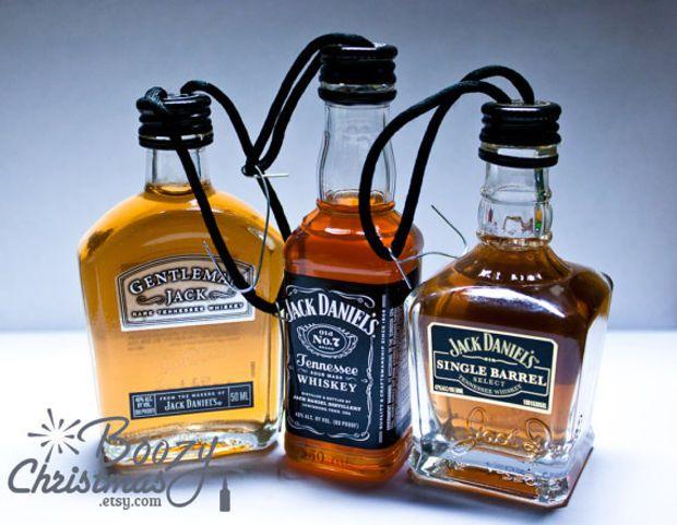 Jack Daniels Ornament Value Pack-- All Three Jack Daniels Christmas Tree  Ornaments. - Jack Daniels Ornament Value Pack-- All Three Jack Daniels Christmas