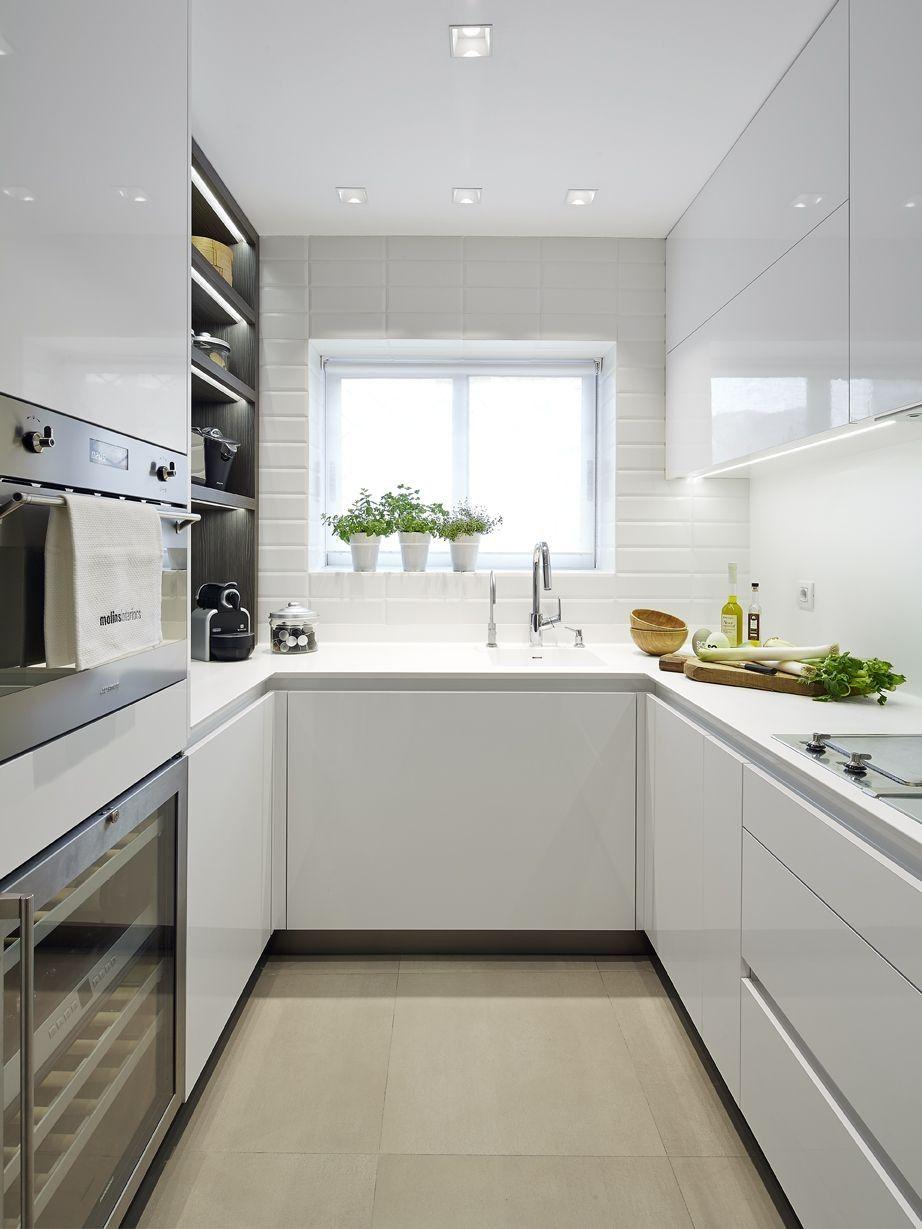 70 Cocinas Nordicas Modernas 2019 Cocinas Rectangulares Cocina