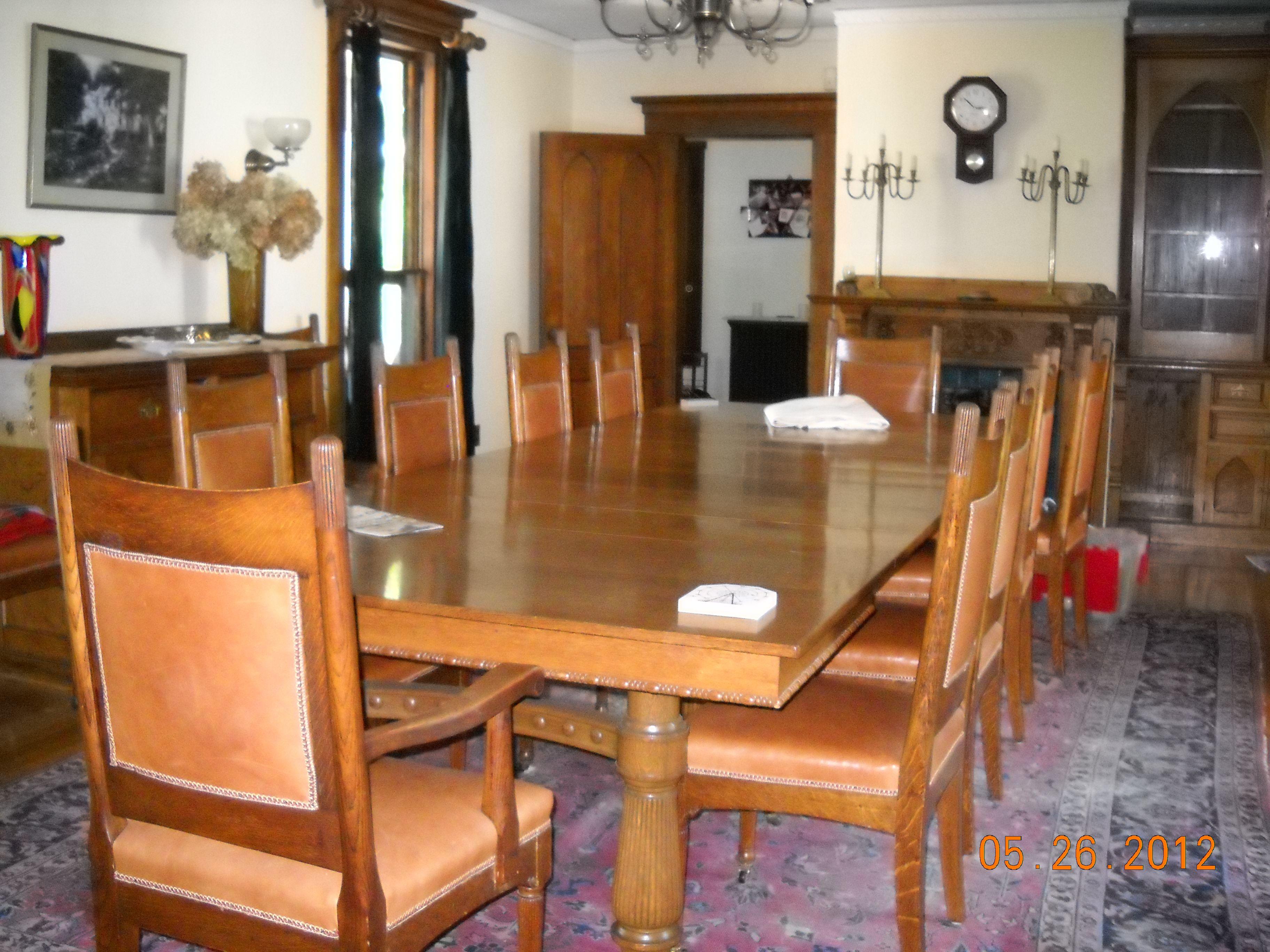 Interior Of Cliff Cottage Kenduskeag Avenue Bangor Maine With